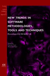 New Trends in Software Methodologies, Tools and Techniques by H. Fujita