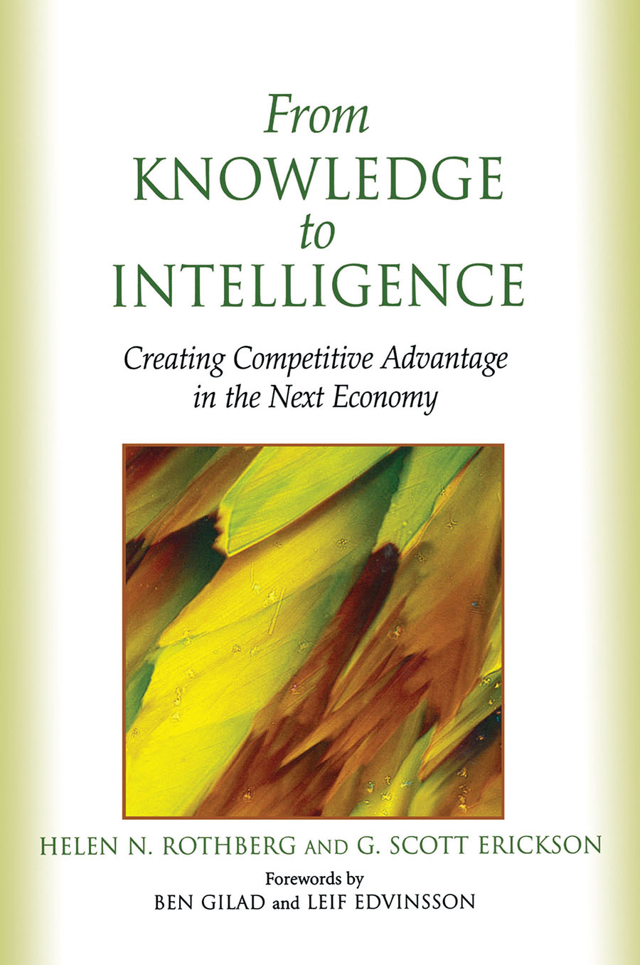 Download Ebook From Knowledge to Intelligence by Helen Rothberg Pdf