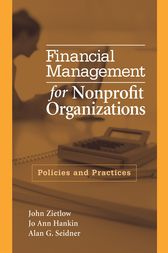 Financial Management for Nonprofit Organizations by John Zietlow