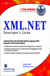 XML Net Developers Guide by Syngress