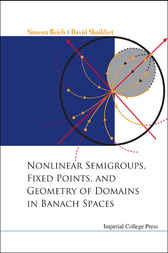 Nonlinear Semigroups, Fixed Points, And Geometry Of Domains In Banach Spaces by Simeon Reich