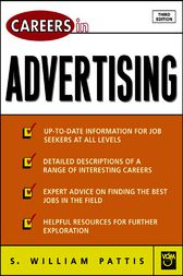 Careers in Advertising by S. William Pattis