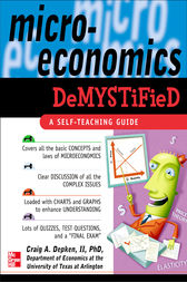 Microeconomics Demystified: A Self-Teaching Guide