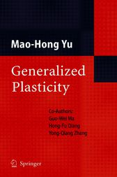 Generalized Plasticity by Mao-Hong Yu