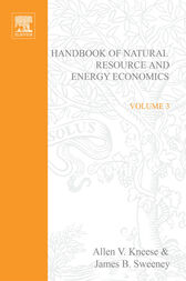 Handbook of Natural Resource and Energy by A. V. Kneese