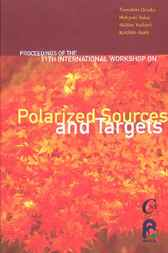 Polarized Sources And Targets by Tomohiro Uesaka