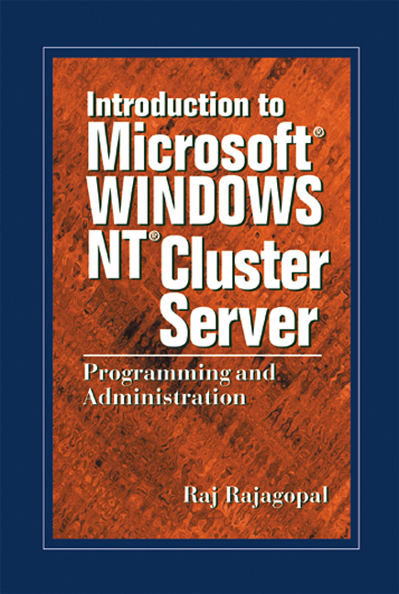 Download Ebook Introduction to Microsoft Windows NT Cluster Server by Raj Rajagopal Pdf