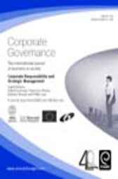 Corporate Responsibility and Strategic Management by Gilbert Lenssen