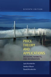 Price Theory and Applications by Jack Hirshleifer