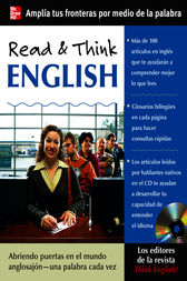 Read & Think English (Book Only) by The Editors of Think English! magazine