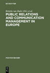 Download Ebook Public Relations and Communication Management in Europe by Betteke van Ruler Pdf