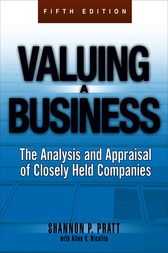 Valuing a Business, 5th Edition by Shannon P. Pratt