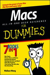 Macs All-in-One Desk Reference For Dummies by Wallace Wang