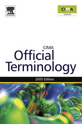 Management Accounting Official Terminology by Graham Eaton