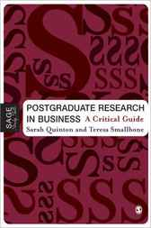 Download Ebook Postgraduate Research in Business by Sarah Quinton Pdf