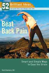 Beat Back Pain (52 Brilliant Ideas) by MD Chambers