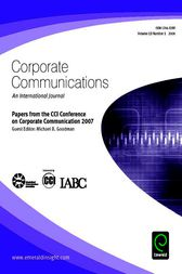 Papers from the CCI Conference on Corporate Communication 2007 by Michael B. Goodman