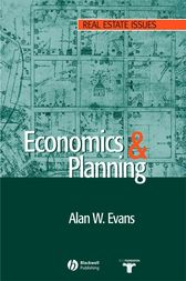 Economics and Land Use Planning by Alan W. Evans