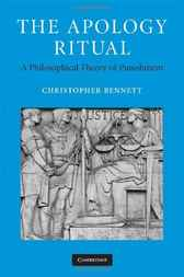 The Apology Ritual by Christopher Bennett