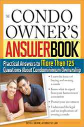 Condo Owner's Answer Book by Beth Grimm