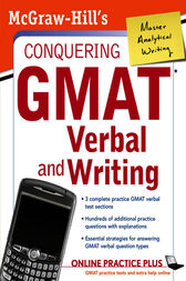 McGraw-Hill's Conquering GMAT Verbal and Writing by Doug Pierce