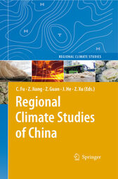 Regional Climate Studies of China by Congbin Fu