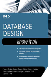 Database Design: Know It All by Toby J. Teorey
