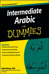Intermediate Arabic For Dummies by Keith Massey