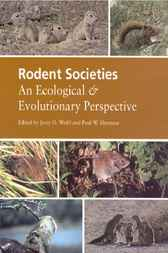 Rodent Societies by Jerry O. Wolff