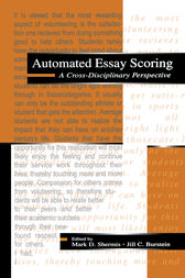 Automated Essay Scoring by Mark D. Shermis