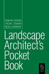 Landscape Architect's Pocket Book by Siobhan Vernon
