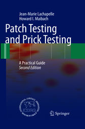Patch Testing and Prick Testing by Jean-Marie Lachapelle