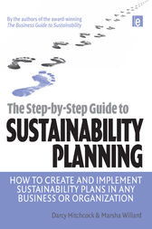 The Step-by-Step Guide to Sustainability Planning by Darcy E Hitchcock