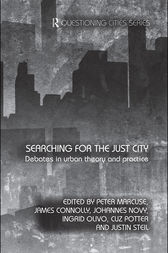 Searching for the Just City by Peter Marcuse