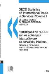 OECD Statistics on International Trade in Services 2008, 1 by OECD Publishing