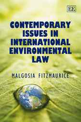 Contemporary Issues in International Environmental Law by M. Fitzmaurice