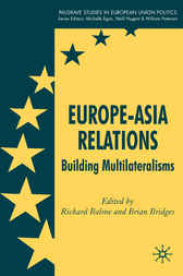 Europe-Asia Relations by Richard Balme