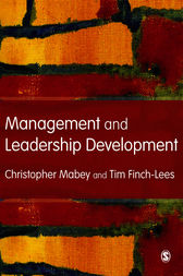 Management and Leadership Development by Christopher Mabey