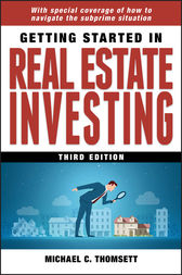 Getting Started in Real Estate Investing by Michael C. Thomsett
