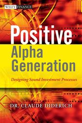 Positive Alpha Generation by Claude Diderich