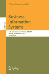 Business Information Systems by Witold Abramowicz