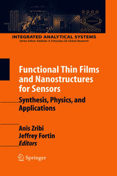 Functional Thin Films and Nanostructures for Sensors by Anis Zribi