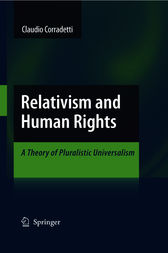 Relativism and Human Rights by Claudio Corradetti