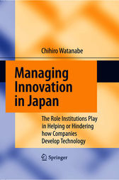 Managing Innovation in Japan by Chihiro Watanabe