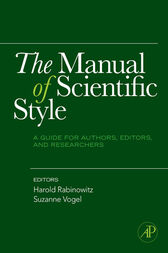 The Manual of Scientific Style by Harold Rabinowitz