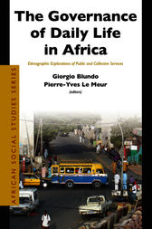 The Governance of Daily Life in Africa by Giorgio Blundo