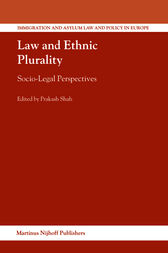 Law and Ethnic Plurality by Prakash Shah