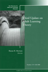 Third Update on Adult Learning Theory by Sharan B. Merriam