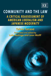 Community and the Law by Takao Tanase
