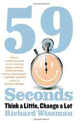59 Seconds by Richard Wiseman